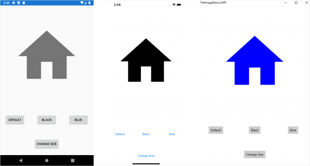 TintImage for Xamarin.Forms